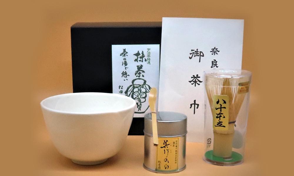 NHK番組出演記念 限定販売セット「茶の湯で憩い」